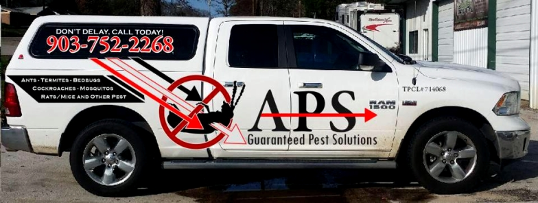 APS Pest Control Lindale TX truck